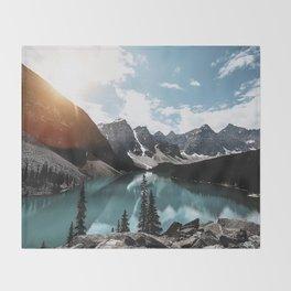 Lake Moraine Throw Blanket