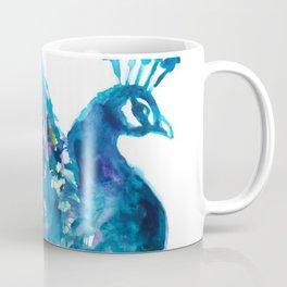 Pretty Peacock Coffee Mug