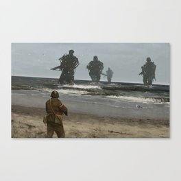 westerplatte 1939 Canvas Print
