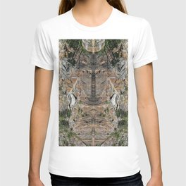 Granite Quarry Refection Abstract #2 T-shirt