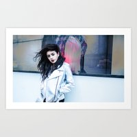 charli xcx Art Prints featuring Charli XCX by behindthenoise