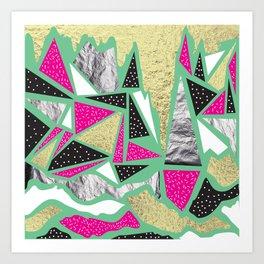 Triangle Pop Art Print