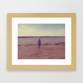 A Day at the Lake Framed Art Print
