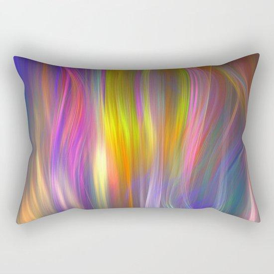 Color streams Rectangular Pillow