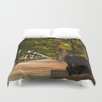 chelsea Duvet Covers featuring Chelsea Walk by KnarFotography
