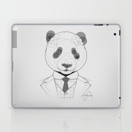 Geometric Panda Laptop & iPad Skin