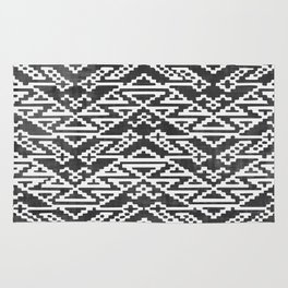 Aztec Block Pattern Rug