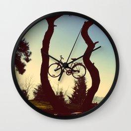 Bicycle Tree Wall Clock