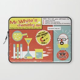 Walter White's Chemistry set Laptop Sleeve