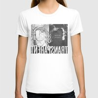 transparent T-shirts featuring Transparent by GarthIvan