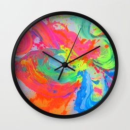 WTS Signature design : Abstract by Glenn Flynn Wall Clock