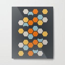 Sam (Gray Blue) Metal Print