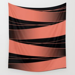 Black and red. Wall Tapestry