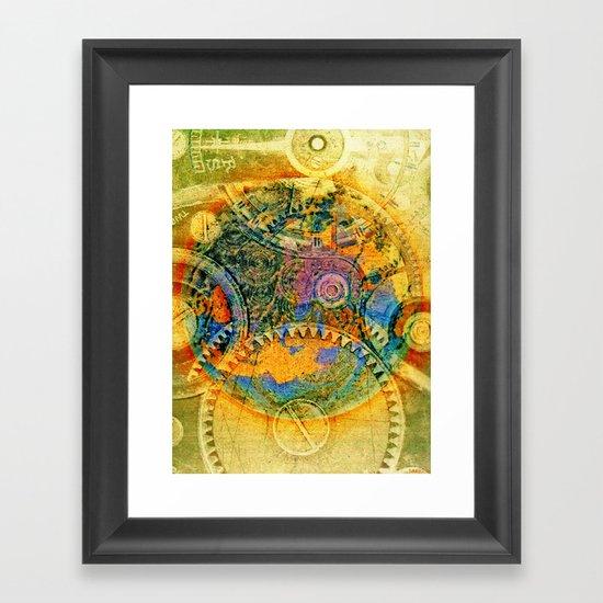 COG FOG Framed Art Print