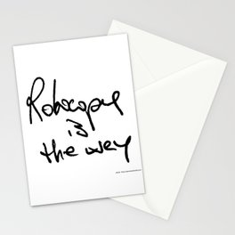 Robocopy is the way Stationery Cards