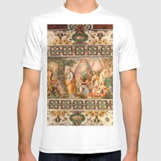 The Italian Ceiling Mens Fitted Tee White MEDIUM