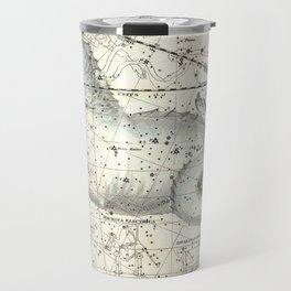 Cetus Constellation, Celestial Atlas Plate 23, Alexander Jamieson Travel Mug