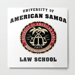 University of American Samoa Law School Metal Print