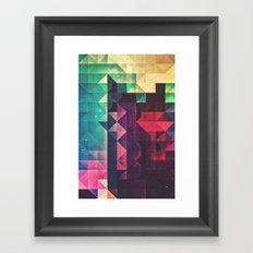frr yww Framed Art Print