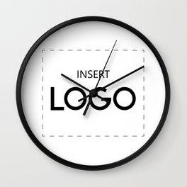 Insert Logo Wall Clock