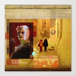 """CITY OF GHOSTS """"The Alien Nation Collection"""" Canvas Print"""