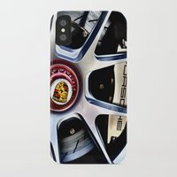 porsche iPhone & iPod Cases featuring Porsche Wheel by LeicaCologne Germany