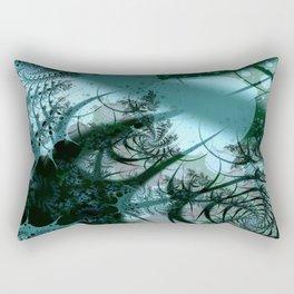 Fruitful Abstract Fractal Art Rectangular Pillow