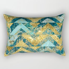 Marble Glitz Rectangular Pillow