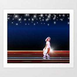 Xanadu Olivia Newton-John Art Print