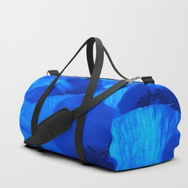Blue Poppies #decor #society6 #buyart Duffle Bag