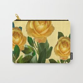 GOLDEN ROSE GARDEN Carry-All Pouch
