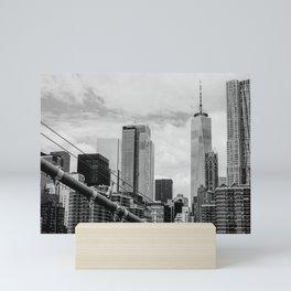 The City That Never Sleeps Mini Art Print