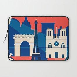 Abstract Paris Laptop Sleeve