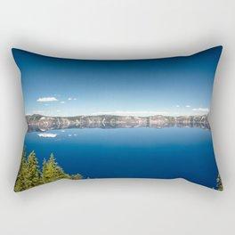 Summer at Crater Lake Rectangular Pillow
