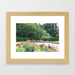 Jardin des Fleurs Framed Art Print