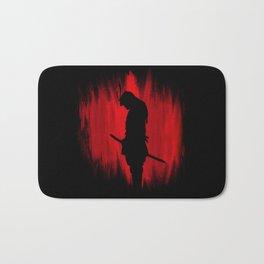 The way of the samurai warrior Bath Mat