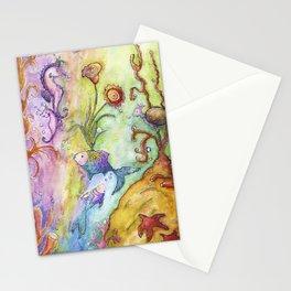 Magical Sea Kingdom Stationery Cards