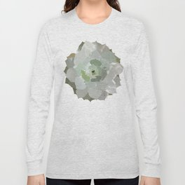 Watercolor Succulent Long Sleeve T-shirt