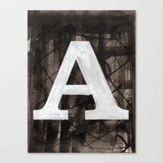 -A- Canvas Print