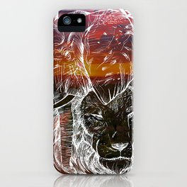 In The Wild Sunset iPhone Case