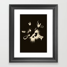 The Harder They Fall Framed Art Print