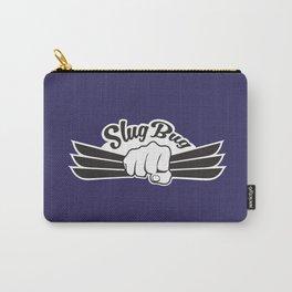 Slug Bug Fist With Dark Blue Background Carry-All Pouch