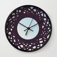 aperture Wall Clocks featuring Aperture by Florian Wille Design