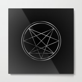Occult symbol- Order of Nine Angles symbol Metal Print