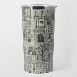 dystopian toile mono Travel Mug