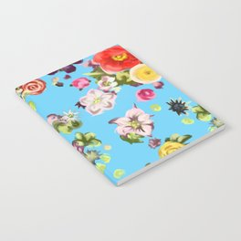 Floating Flowers Notebook