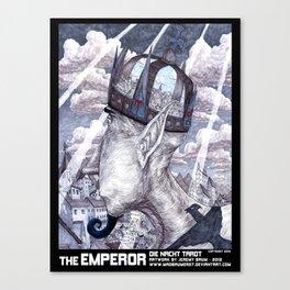 THE EMPEROR Canvas Print