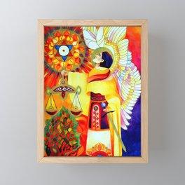 Mikael Framed Mini Art Print