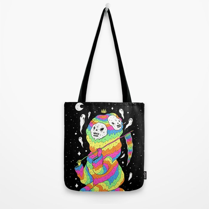 Slimey Space Reaper Tote Bag
