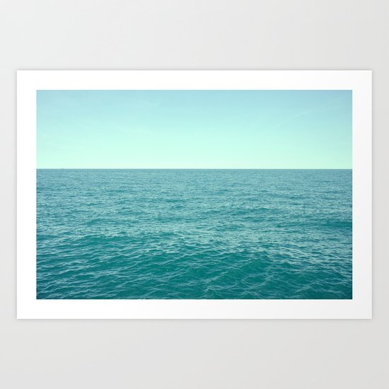 Lake Michigan  Art Print